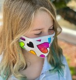 Face Mask PKP Kids Face Mask-Rainbow Smiles