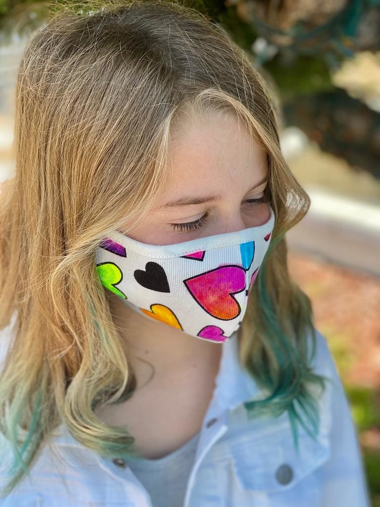 Face Mask Kids Face Mask-Rainbow Smiles