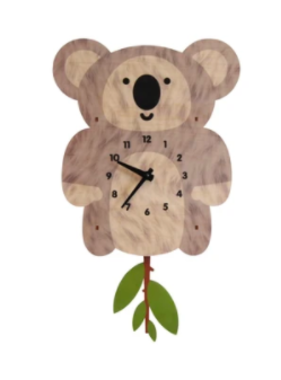 Modern Moose Koala Pendulm Clock PCPEN0104 **PREORDER