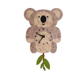 Modern Moose Koala Pendulm Clock PCPEN0104