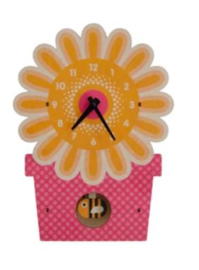 Modern Moose Flowerpot Pendulum Clock PCPEN038 **PREORDER