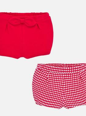 Mayoral 1261 64 Red 2 shorts set