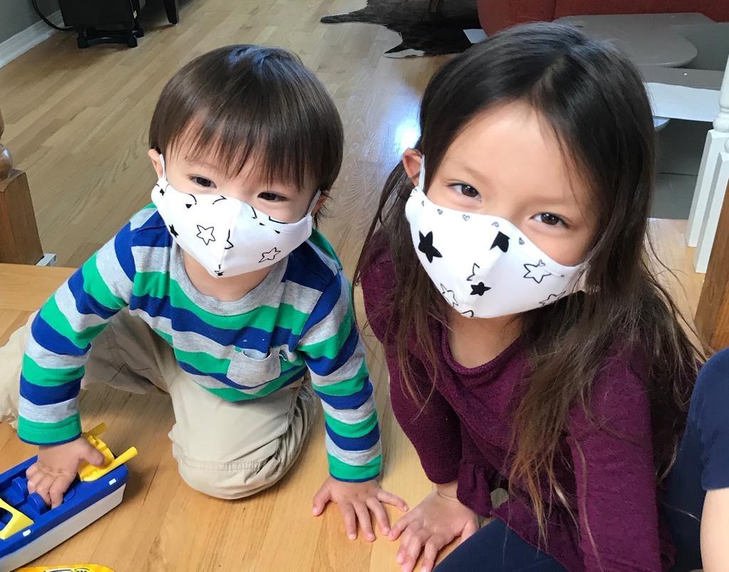 Face Mask Kids Face Mask- Confetti Fleur Print