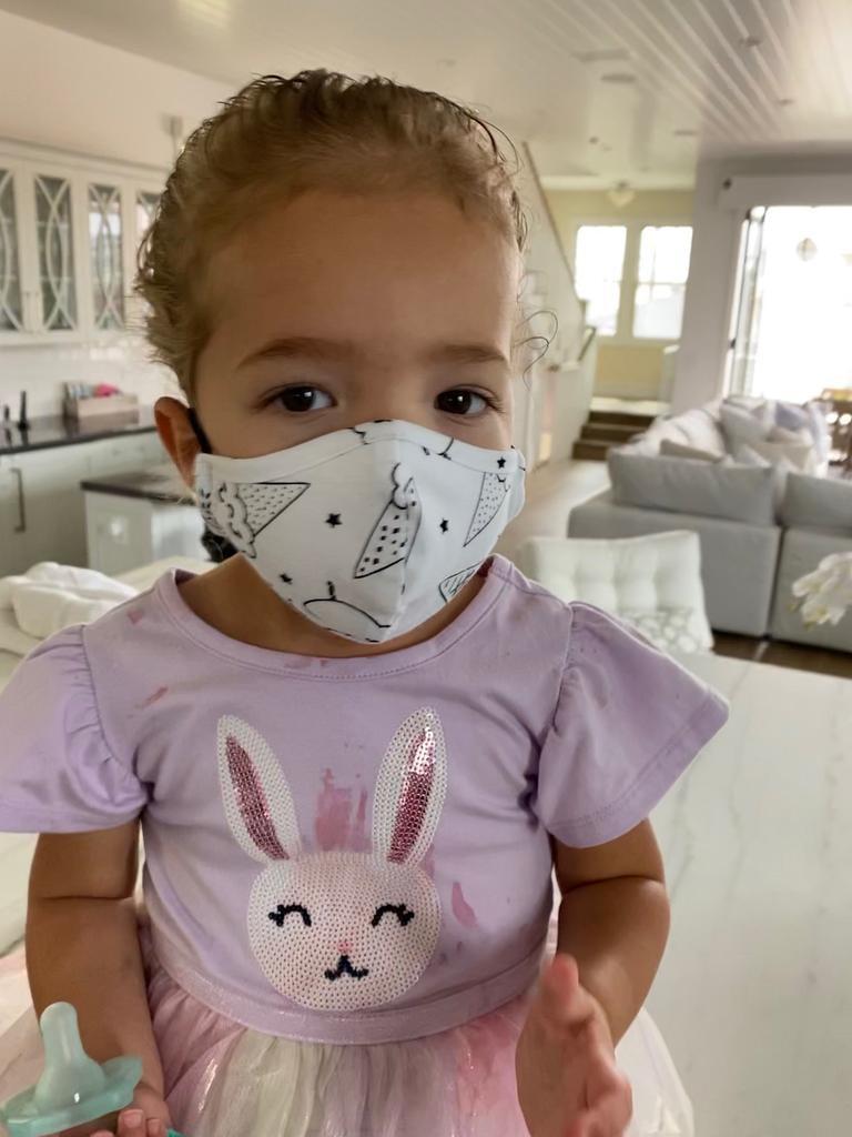 Face Mask PKP Kids Face Mask- Confetti Fleur Print