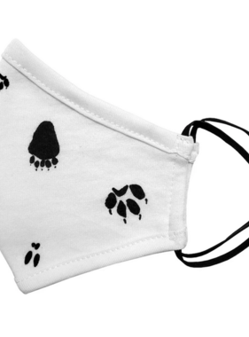Face Mask Kids Face Mask-2 sizes-Paw Prints