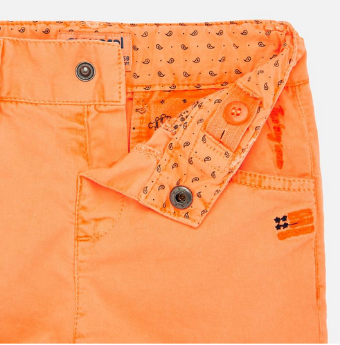 Mayoral 1291 39 Neon mango shorts