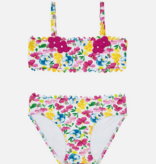 Mayoral 3727 47 Fuchsia Flowers bikini