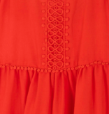 Mayoral 6973 32 Persimmon Cotton dress