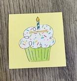 Greeting Cards Enclosure Card - Cupcake