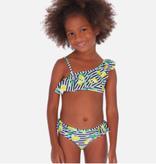 Mayoral 3728 67 Ruffle Bikini - Lemons