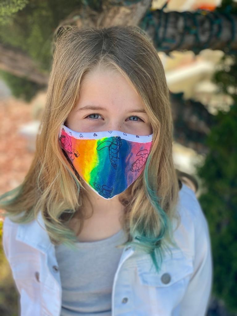 Face Mask PKP Kids Face Mask-Paw Prints