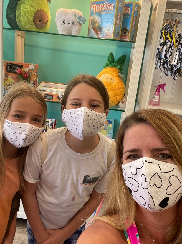 Face Mask Kids Face Mask-Confetti Love
