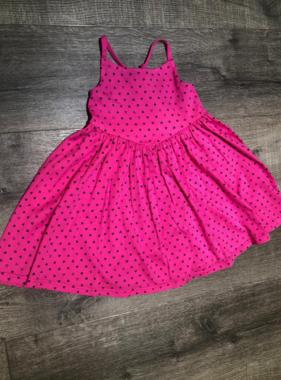 4413 Crossback Dress Confetti Heart