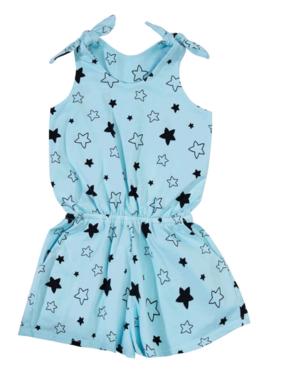 Bella Beach Kids 4006 Romper Blue Stars
