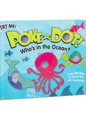 Melissa & Doug POKE-A-DOT:  WHO'S IN THE OCEAN? 31342