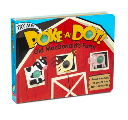 Melissa & Doug POKE-A-DOT: OLD MACDONALD'S FARM 31341