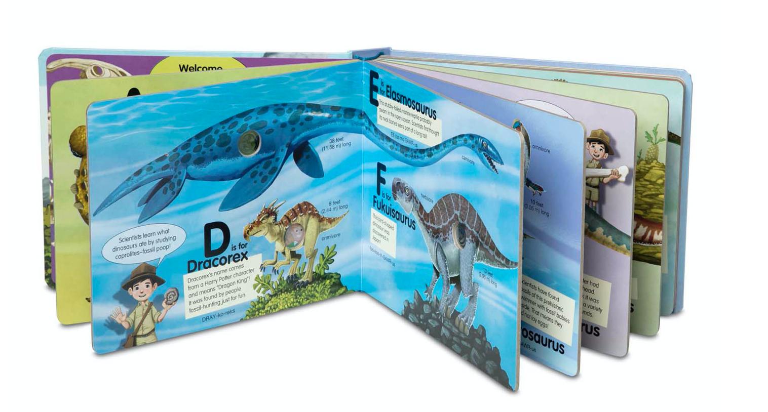 Melissa & Doug POKE-A-DOT: Dinosaurs A to Z 31347