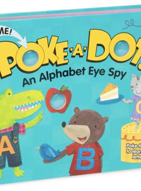Melissa & Doug POKE-A-DOT: AN ALPHABET EYE SPY 31346