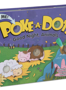 Melissa & Doug POKE-A-DOT: Goodnight Animal 31343