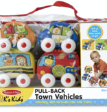Melissa & Doug 9168 Pull Back Vehicles