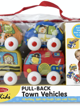 Melissa & Doug 9168 Pull Back Vehicles