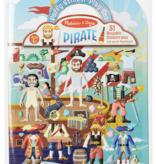 Melissa & Doug Pirate Reusable Puffy Stickers 9102