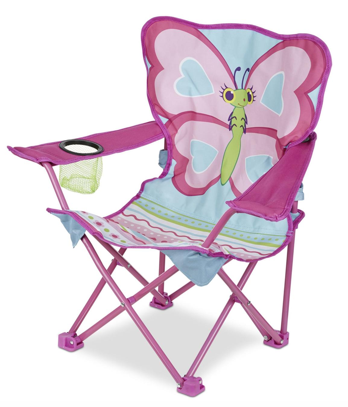 Melissa & Doug 6693 Cutie Pie Butterfly Camp Chair