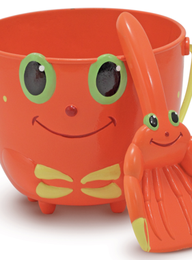 Melissa & Doug 6400 Clicker Crab Pail and Scoop