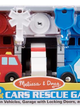 Melissa & Doug Keys and Cars Rescue Garage 4607