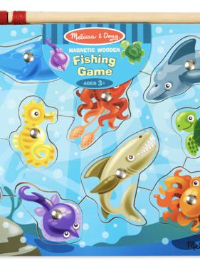 Melissa & Doug 3778 Fishing Magnetic Puzzle Game