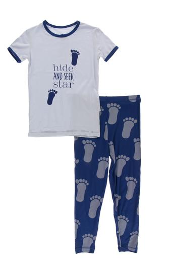 Kickee Pants Short Sleeve Pajama-Bigfoot