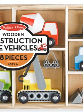 Melissa & Doug Wooden Construction Site Vehicles 3180