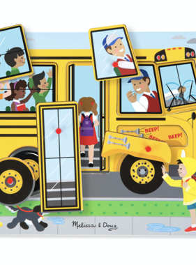 Melissa & Doug Sound Puzzle The Wheels on the Bus