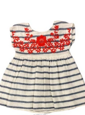 Mimi & Maggie 80386 Post Stripe Dress