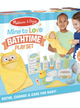Melissa & Doug Mine to Love Changing and Bathtime Set 31703