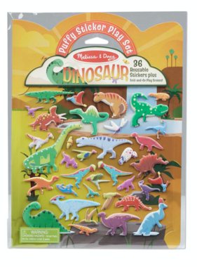 Melissa & Doug Puffy Sticker Pad Dino 30521