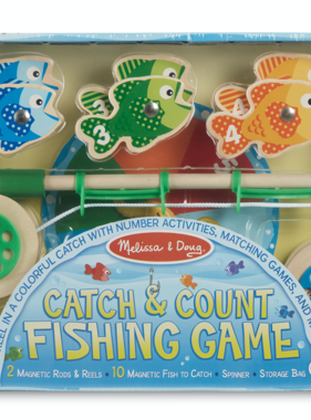 Melissa & Doug 5149 Catch & Count Fishing Game