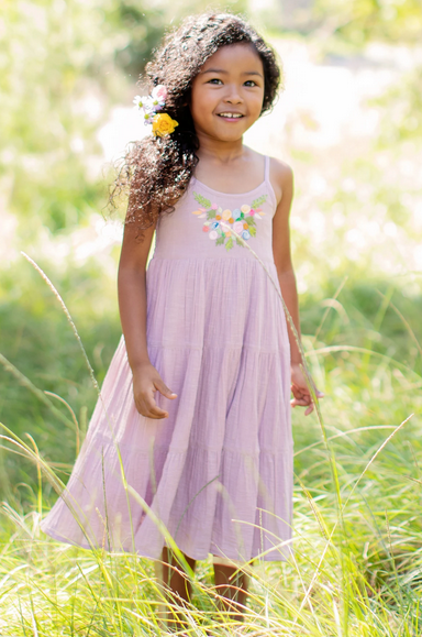 Mimi & Maggie 80461K First Spring Dress Blossoms Lav