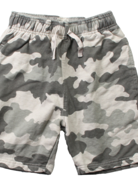 Wes And Willy Camo Fleece Short-Camo