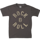 Wes And Willy Rock N Roll SS Tee-Metal