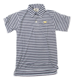 Wes And Willy Performance Stripe Shirt-Midnight