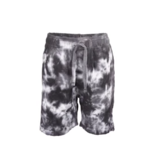 Wes And Willy Tie Dye Fleece Short Black