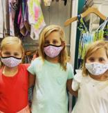 Face Mask Kids Face Mask Confetti Love Hot Pink