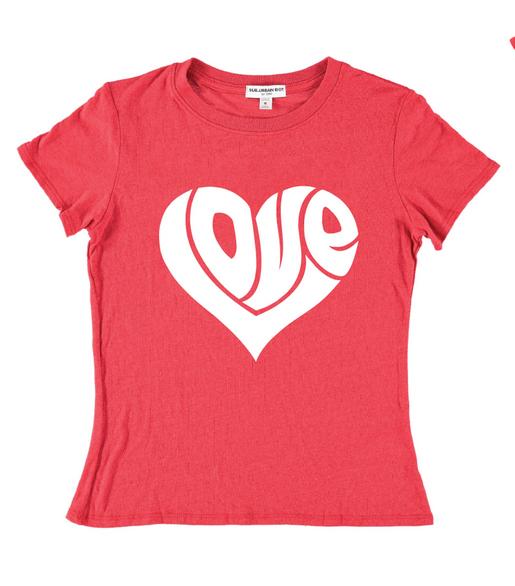 Sub_Urban Riot LOVE HEART TEE