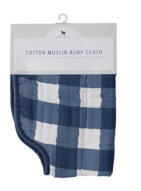 Little Unicorn Cotton Muslin Burp Cloth-Jack Plaid