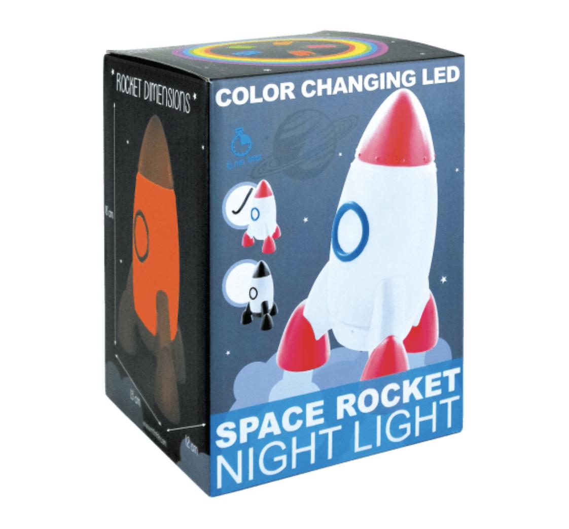 Iscream 865-019 Rocket Night Light