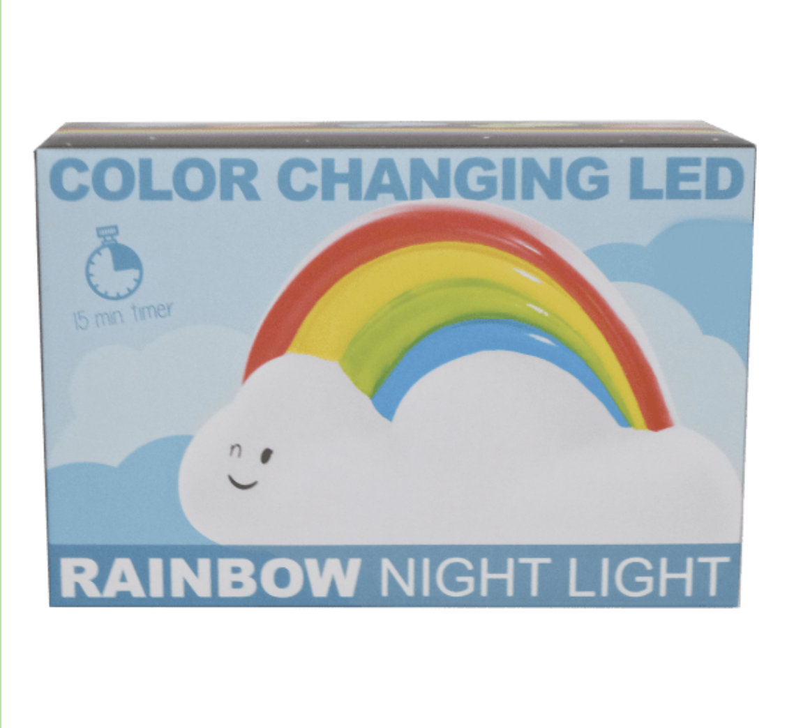 Iscream 865-012 Rainbow Night LIght