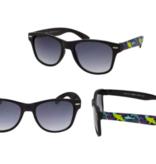 Hang Ten Black Sunglasses/Shark Case RCXJR03A