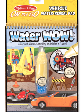 Melissa & Doug 5375 Vehicles Water Wow!