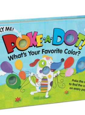Melissa & Doug POKE-A-DOT: FAVORITE COLOR? 31344